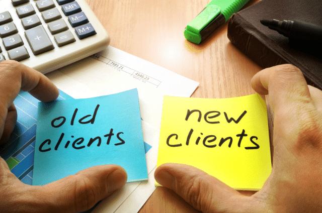 bestaande customers behouden en nieuwe klanten welkom heten